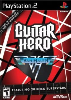 Jaquette de Guitar Hero : Van Halen PlayStation 2