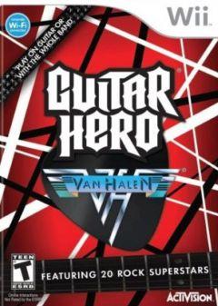 Jaquette de Guitar Hero : Van Halen Wii