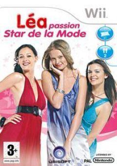 Jaquette de Léa Passion Star de la Mode Wii