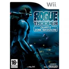 Jaquette de Rogue Trooper : The Quartz Zone Massacre Wii