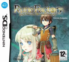 Jaquette de Rune Factory : A Fantasy Harvest Moon DS