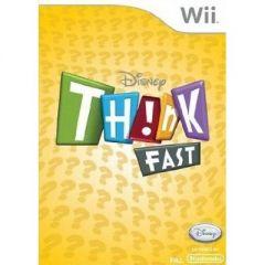 Jaquette de Think Fast : Le Maxi Quiz Wii
