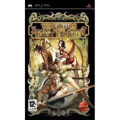 Jaquette de Warriors of the Lost Empire PSP