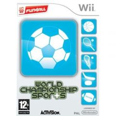Jaquette de World Championship Sports Wii