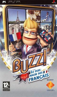 Jaquette de Buzz ! Le Plus Malin Des Français PSP