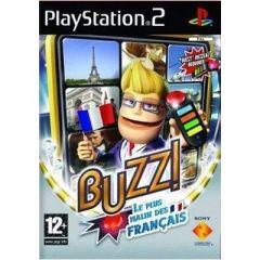 Jaquette de Buzz ! Le Plus Malin Des Français PlayStation 2