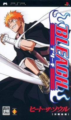 Jaquette de Bleach : Heat The Soul PSP