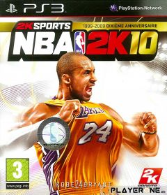 Jaquette de NBA 2K10 PlayStation 3