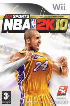 Jaquette de NBA 2K10 Wii