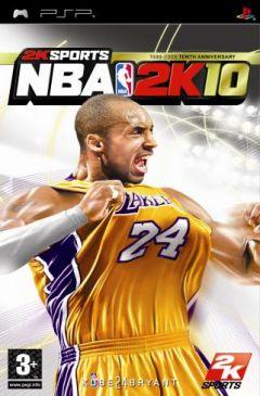 Jaquette de NBA 2K10 PSP