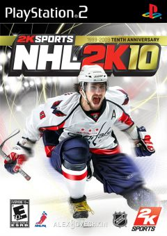 Jaquette de NHL 2K10 PlayStation 2