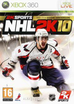 Jaquette de NHL 2K10 Xbox 360