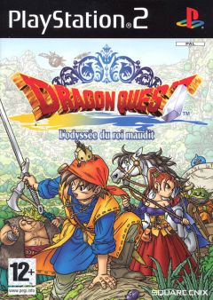 Jaquette de Dragon Quest VIII : L'Odyssée du Roi Maudit PlayStation 2