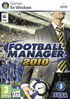 Jaquette de Football Manager 2010 PC