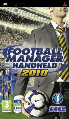 Jaquette de Football Manager Handheld 2010 PSP