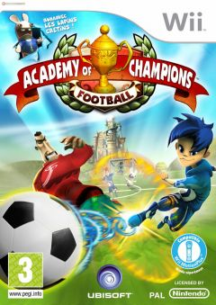 Jaquette de Academy of Champions : Football Wii