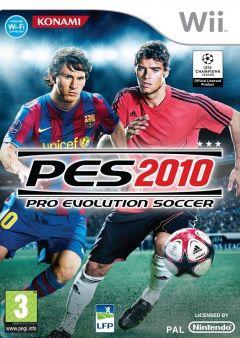 Jaquette de PES 2010 Wii