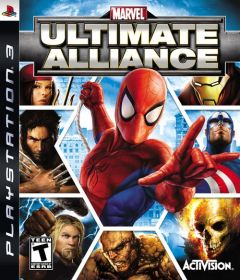 Jaquette de Marvel : Ultimate Alliance PlayStation 3