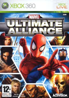 Jaquette de Marvel : Ultimate Alliance Xbox 360