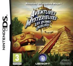 Jaquette de Aventures Mystérieuses : les ruines oubliées DS