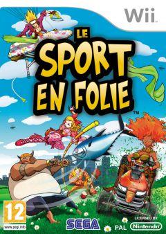 Jaquette de Le Sport en Folie Wii