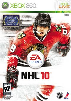 Jaquette de NHL 10 Xbox 360