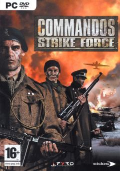 Jaquette de Commandos Strike Force PC