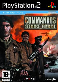 Jaquette de Commandos Strike Force PlayStation 2