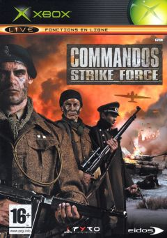 Jaquette de Commandos Strike Force Xbox