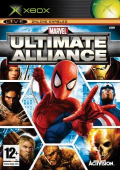 Jaquette de Marvel : Ultimate Alliance Xbox