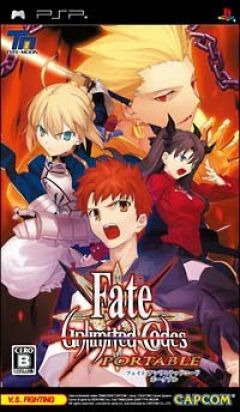 Jaquette de Fate/Unlimited Codes PSP