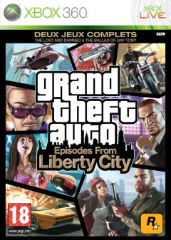Jaquette de Grand Theft Auto : Episodes from Liberty City Xbox 360