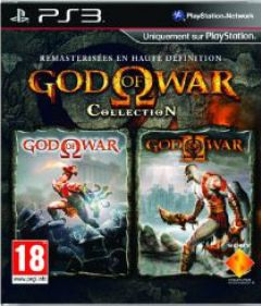 Jaquette de God of War Collection PlayStation 3