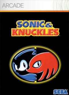 Jaquette de Sonic & Knuckles Xbox 360
