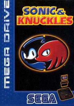 Jaquette de Sonic & Knuckles Megadrive