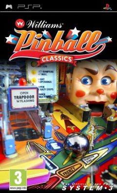 Jaquette de Williams Pinball Classics PSP