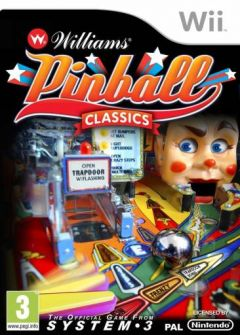 Jaquette de Williams Pinball Classics Wii