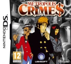 Jaquette de Metropolis Crimes DS