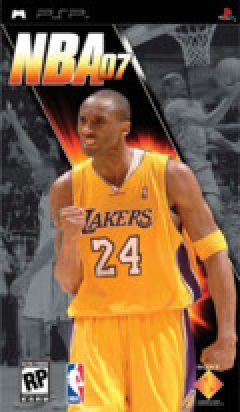 Jaquette de NBA 07 PSP