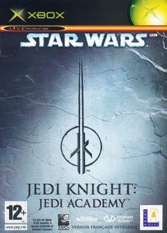 Jaquette de Star Wars Jedi Knight : Jedi Academy Xbox
