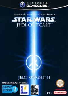 Jaquette de Star Wars Jedi Knight II : Jedi Outcast GameCube