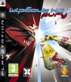 Jaquette de WipEout HD Fury PlayStation 3