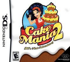 Jaquette de Cake Mania 2 DS