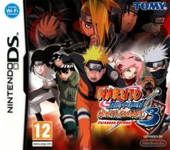 Jaquette de Naruto Shippuden : Ninja Council 3 European Version DS