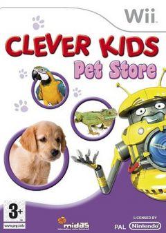Jaquette de Clever Kids : Pet Store Wii