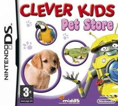 Jaquette de Clever Kids : Pet Store DS