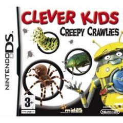 Jaquette de Clever Kids : Creepy Crawlies DS