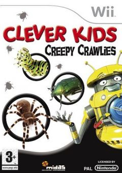 Jaquette de Clever Kids : Creepy Crawlies Wii