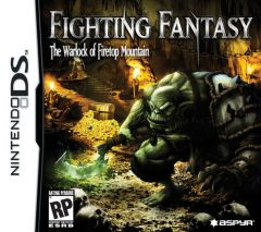 Jaquette de Fighting Fantasy : the Warlock of Firetop Mountain DS