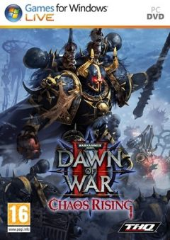 Jaquette de Warhammer 40.000 : Dawn of War II - Chaos Rising PC